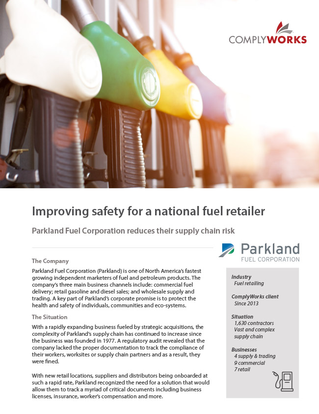 Parkland Fuel Corporation Case Study Image