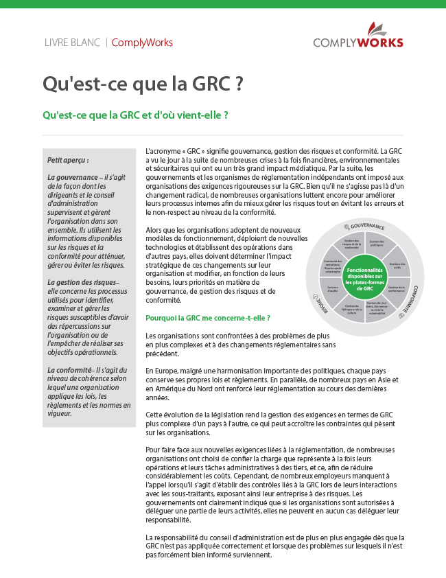 Image of our What is GRC white paper
