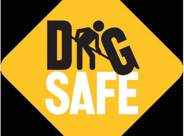 Dig safe icon