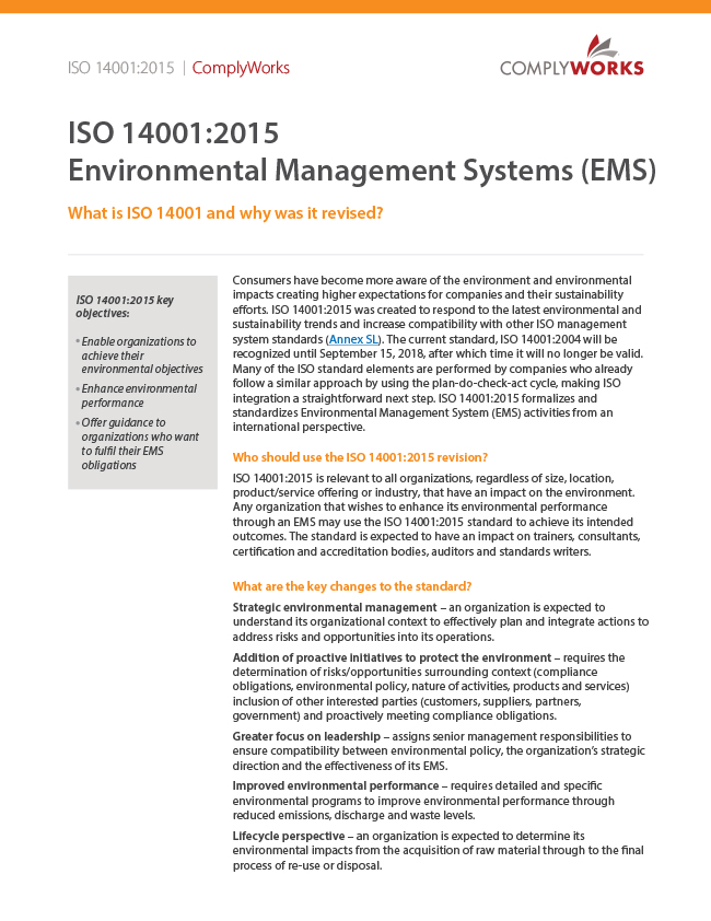ISO 14001 White Paper