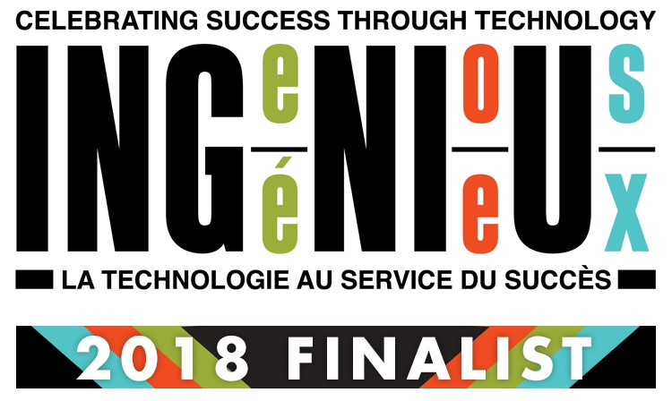 Ingenius Finalist French Logo