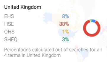 Google Trends UK Map