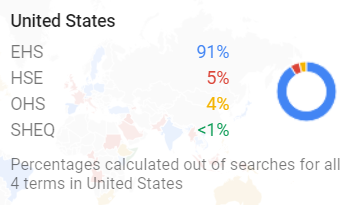 Google Trends United States Map