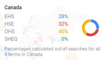Google Trends Canada Map